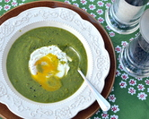 March - Very Very Green Green-Pea Soup