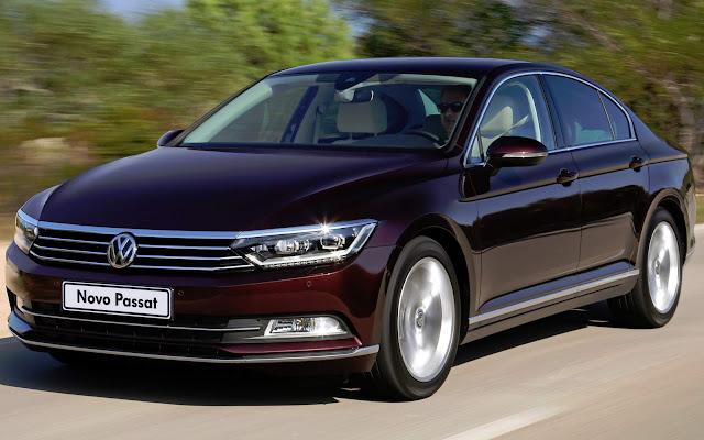 VW Passat - 4º carro mais vendido da Alemanha - maio