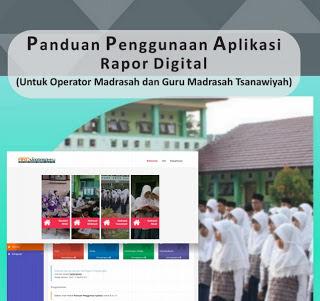 Panduan Penggunaan Aplikasi Rapor Digital (ARD) Untuk MTs