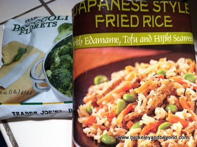 SuperSimple recipe for TJ'S Japanese-style Fried Rice with Broccoli