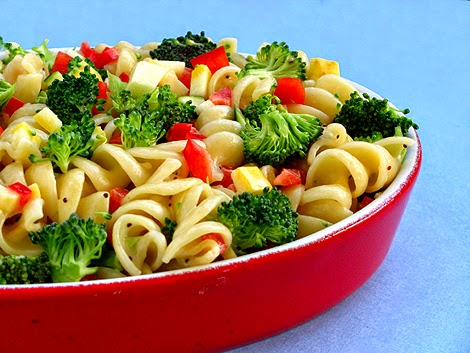Light and Healthy Summer Pasta Salad