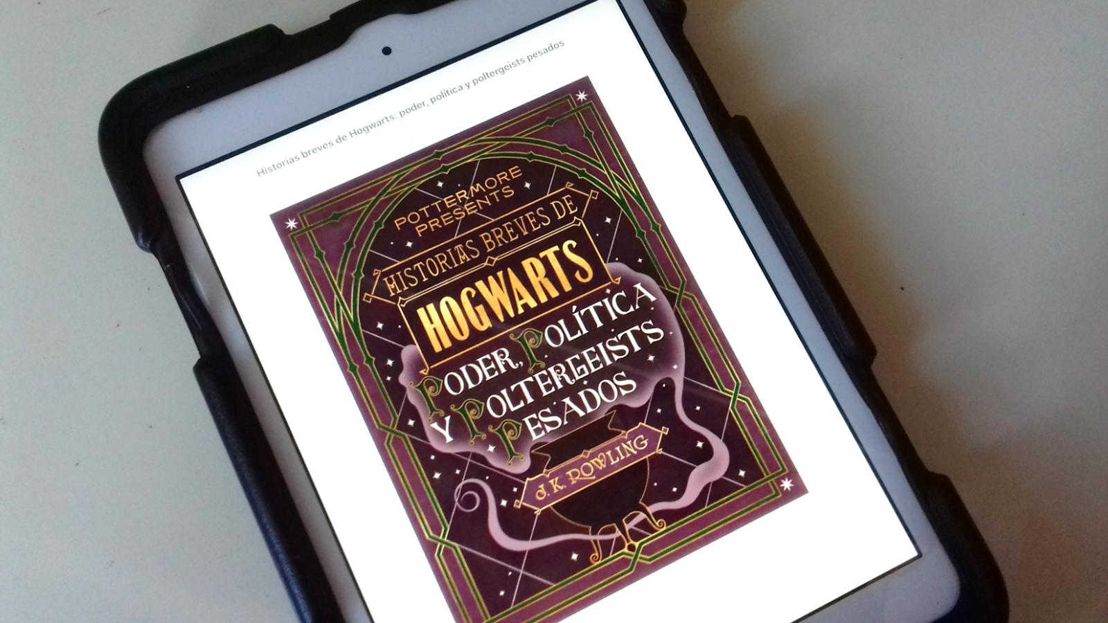 Reseña: Poder, Política y Poltergeists Pesados (Pottermore Presents #2) de  J.K. Rowling