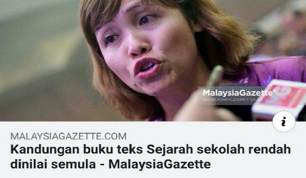 Mahathir mau belajar agama seminggu sekali, DAP pula pinda silibus sejarah
