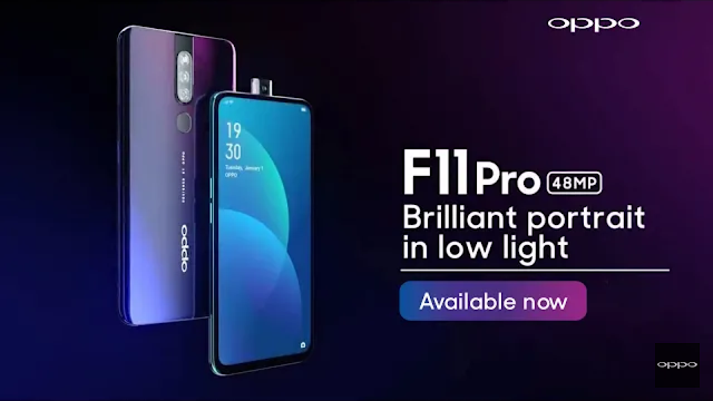 Oppo F11pro : At Rs. 24,990
