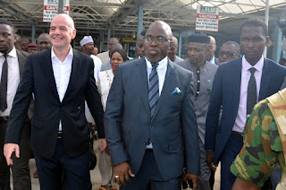 FIFA president and Secretary General visits Nigeria