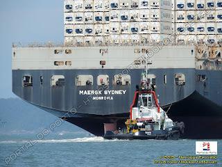 Maersk Sydney e Sculptor