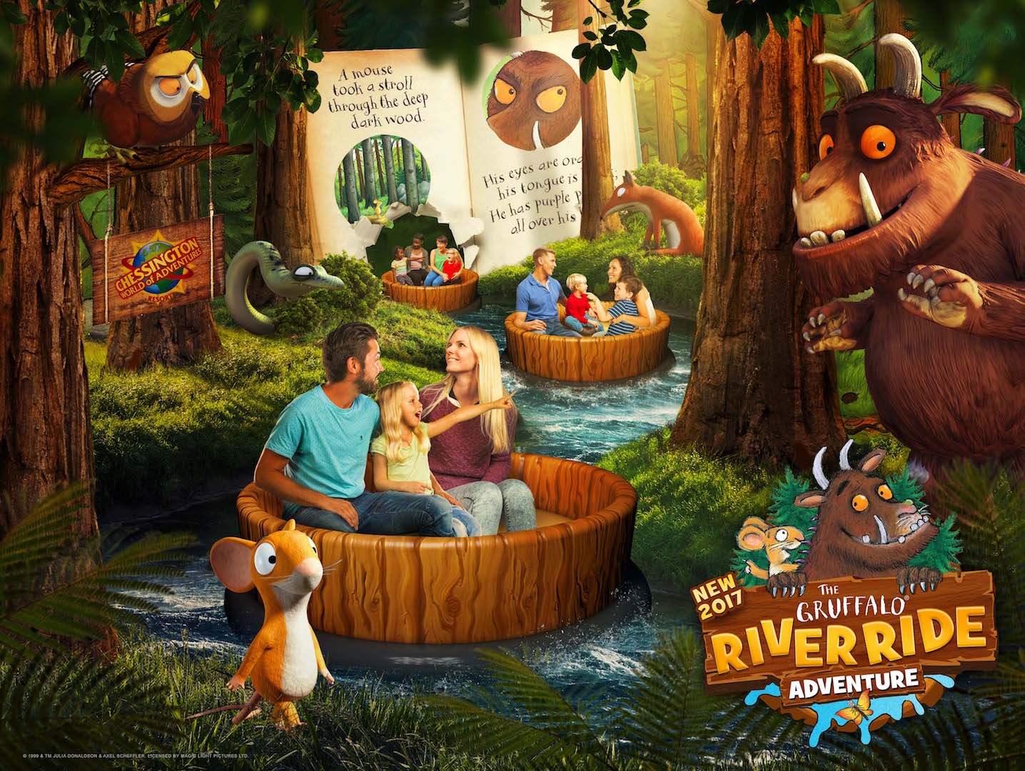 The Gruffalo River Ride Adventure with Goodies | WIN!*