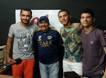 Neto Caraúbas visita Sinal Esportivo e relembra passagem pelo Futsal Aracatiense