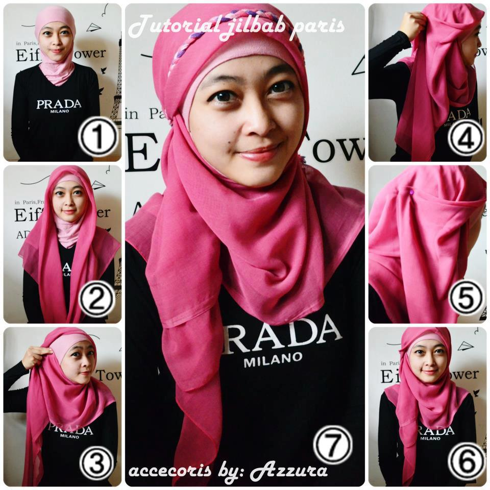 Tutorial Hijab Terbaru September 2014