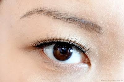 Esqido Unisyn Synthetic False Eyelashes PB & J Review Close Up Application Monolids