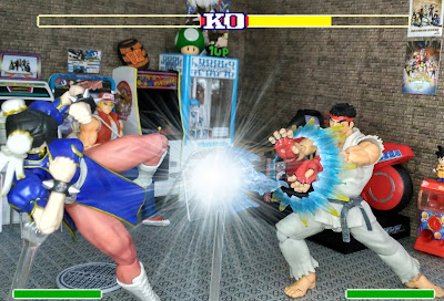 "Review de los S.H.Figuarts ""Ryu"" y ""Chun-li"" de Street Fighter."