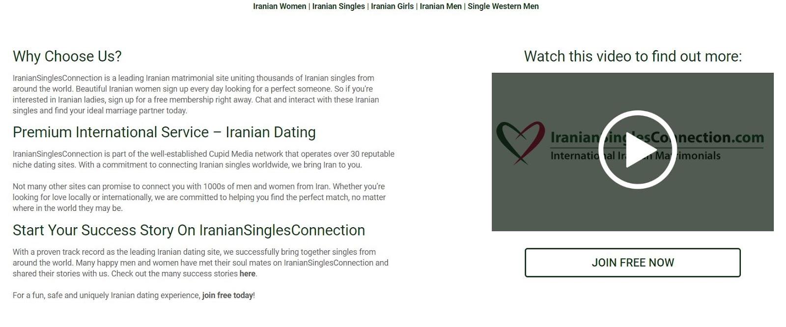 dating sites voor Iran Hoe te gebruiken betaalde dating sites voor gratis