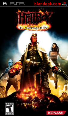 Downlad Hellboy The Science Of Evil PPSSPP Iso Ukuran Kecil