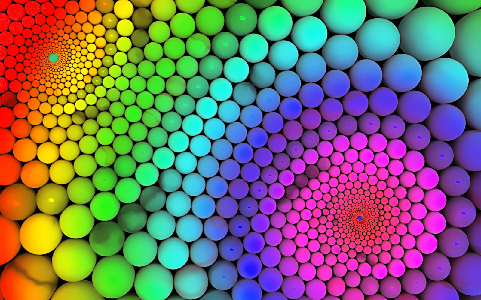All new wallpaper : Geometry Rainbow Colours Wallpapers