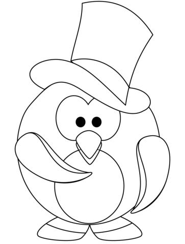 pinguin-malvorlagen - tipss und vorlagen
