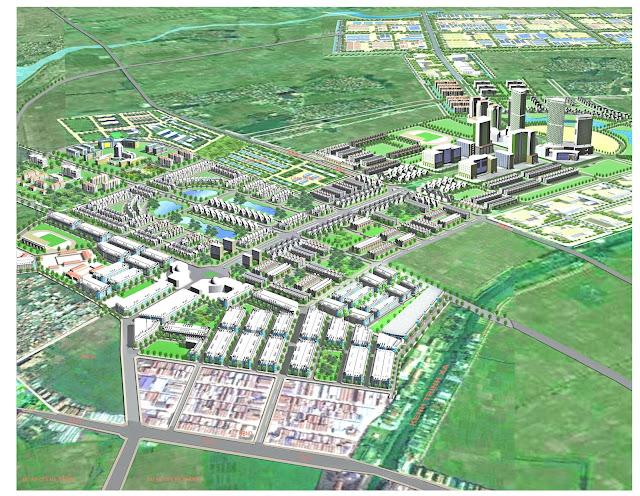 Quy hoạch khu đô thị Lovera Garden Từ Sơn Bắc Ninh