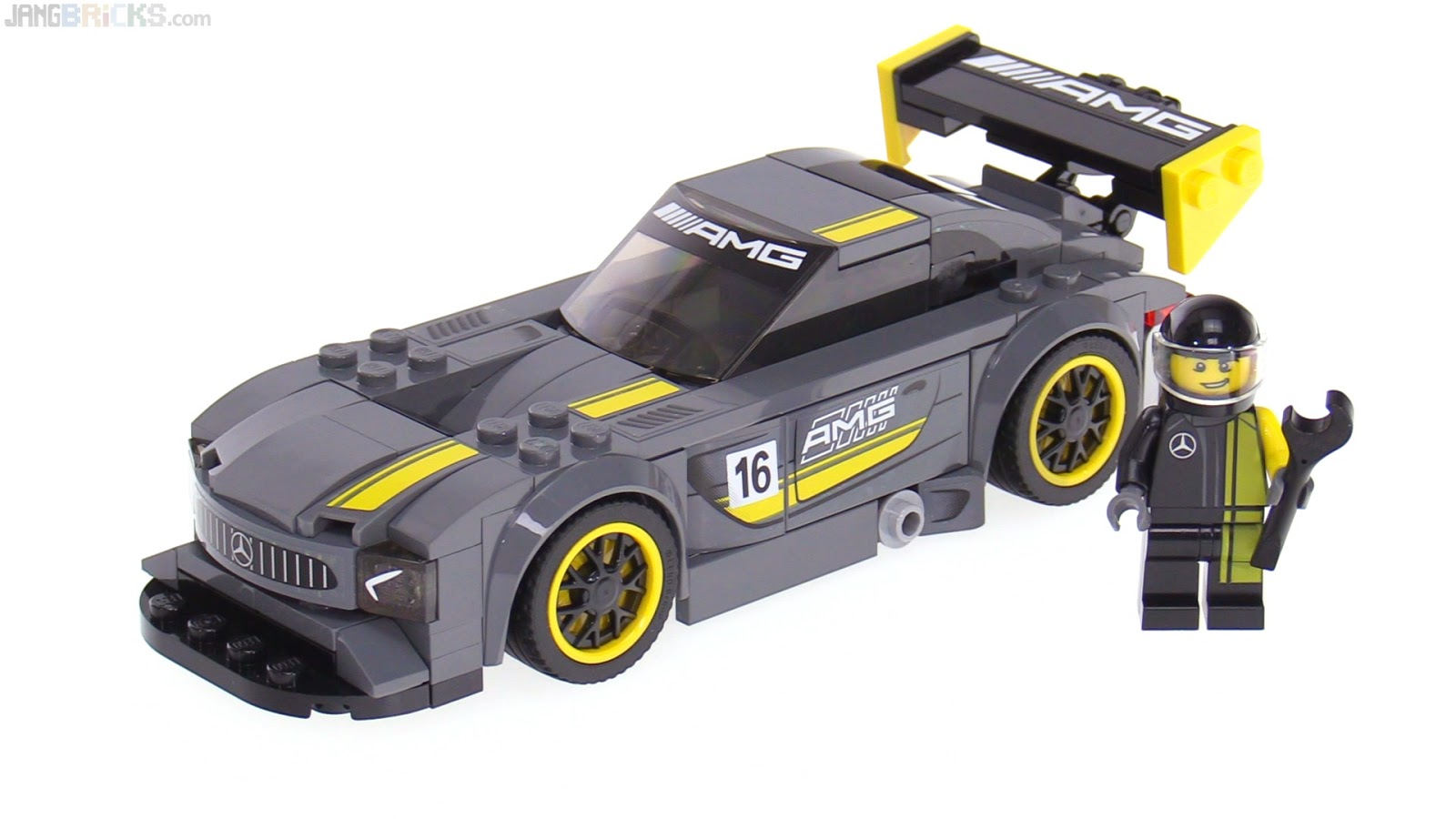 lego speed champions mercedes amg gt3 review 75877. Black Bedroom Furniture Sets. Home Design Ideas