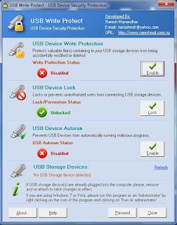 USB Write Protect agar flashdisk kebal terhadap virus