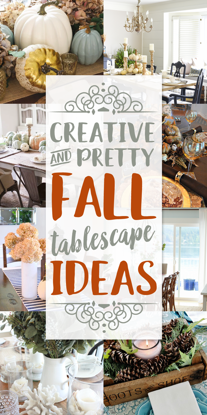 Fall Tablescape Ideas - Our Southern Home
