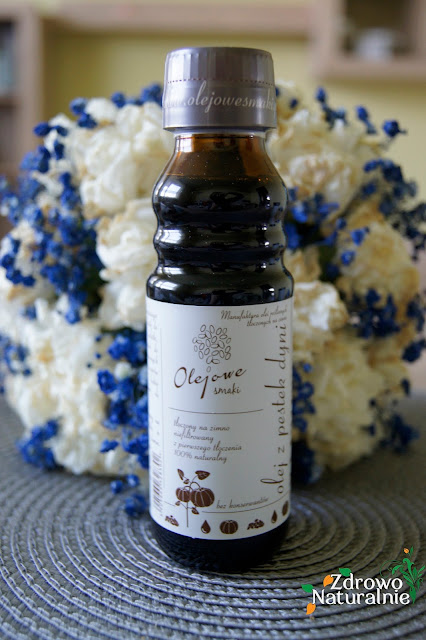 Olejowe Smaki - Olej z pestek dyni tłoczony na zimno