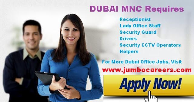 security guard job in dubai, driver helper reception staff job in uae dubai