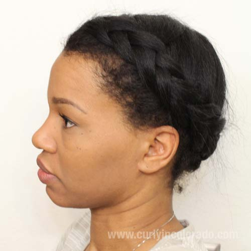 4 Protective Hair Styles in 4 Weeks - Curly in Colorado
