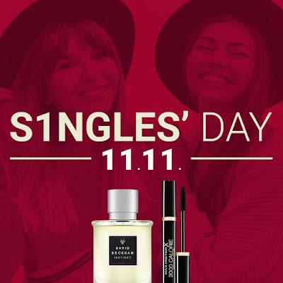 Single's Day descuento 11% en perfumería Notino