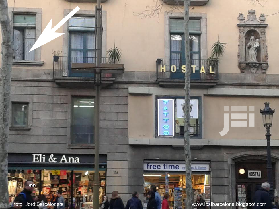 Barcelona mon amour el espect culo de la fe divertimento for Hostal parisien barcelona