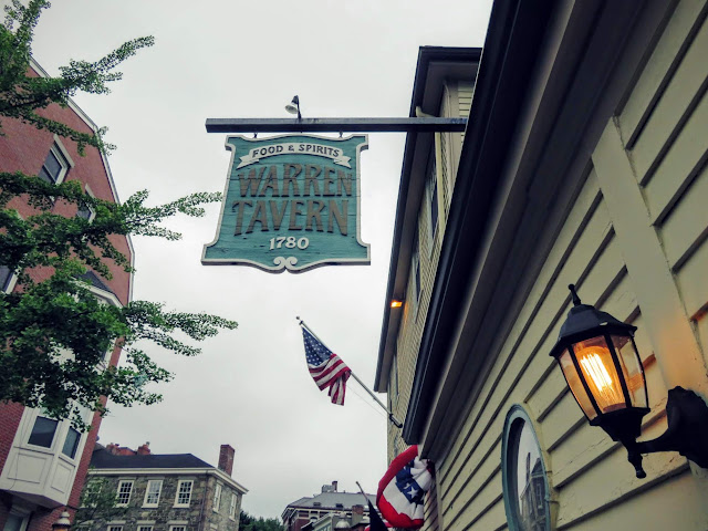 Warren Tavern in Bunker Hill in Boston
