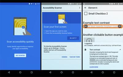 Aplikasi Accessibility Scanner