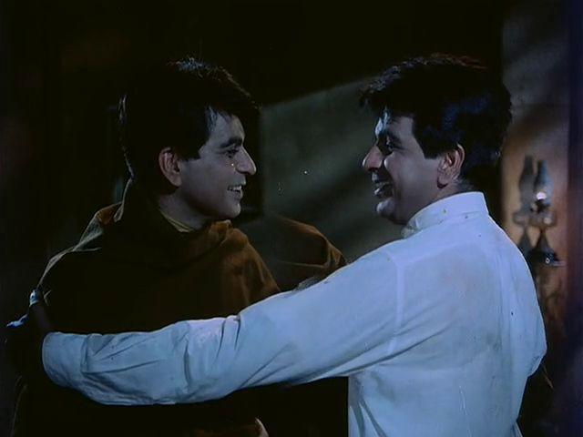 Screen Shot Of Hindi Movie Ram Aur Shyam (1967) Download And Watch Online Free at worldfree4u.com