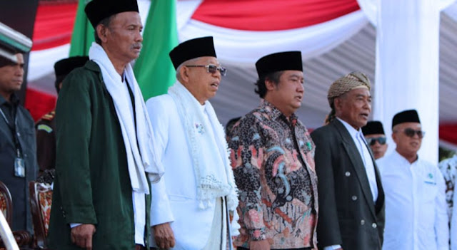 Ratusan Ribu Banser dan Nahdliyin Deklarasi Dukung Kiai Ma'ruf Amin