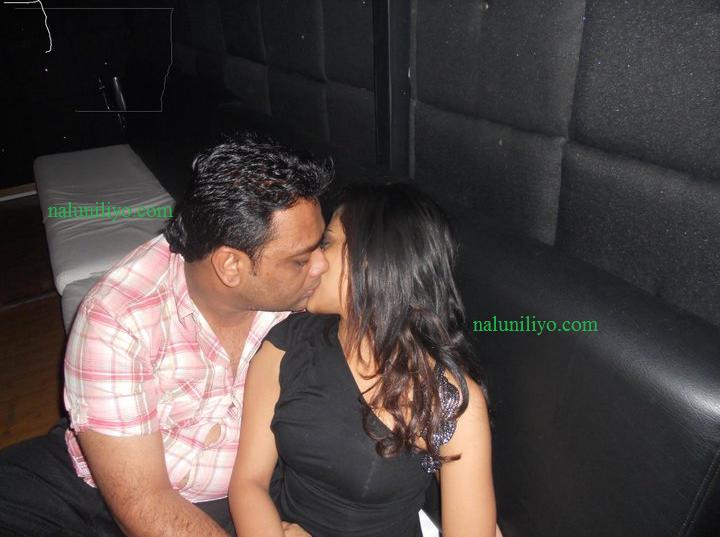 Menaka Maduwanthi kissing boyfriend sexy