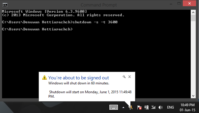 Denuwan's BLOG: Execute command prompt command through