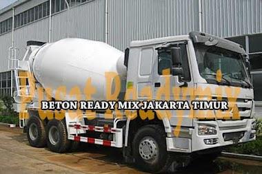 HARGA BETON COR / READY MIX JAKARTA TIMUR 2020