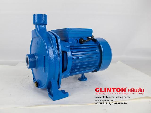 ปั๊มน้ำหน้าใหญ่ 1 นิ้ว 750 วัตต์ CLINTON รุ่น LY-158