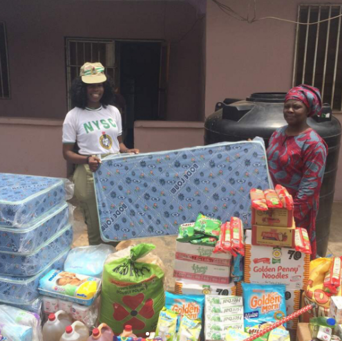Corp member renovates, donates items to orphanage in Ibadan