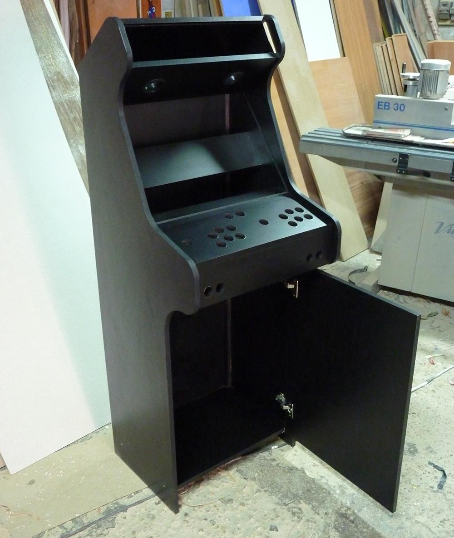 Crea tu arcade planos para construir un mueble arcade for Mueble maquina recreativa