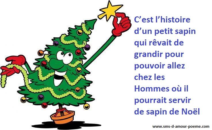 Histoire de Noël : Il était une fois un petit sapin