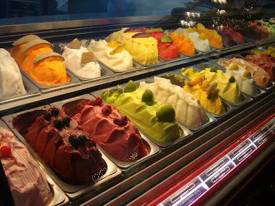 berbagai rasa es krim