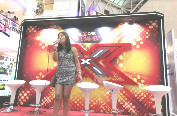 Hidden talents were unleashed as guests sang to their heart's content at The X Factor Stage.