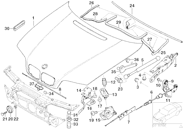 Bmw E46 Coolant Tank Diagram, Bmw, Free Engine Image For