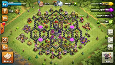 Bermain 2 Akun Clash Of Clan Di Hp Android Yang Sama (Update 2017)