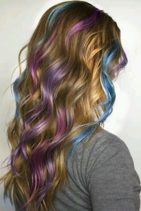 hair color with highlights amazing multi colored highlights the haircut web 31037