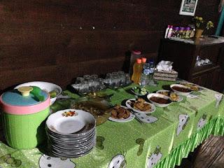 Hidangan istimewa ala Gedung Batin