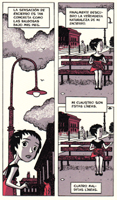 Diagnósticos de Agrimbau y Varela - comic sobre locura