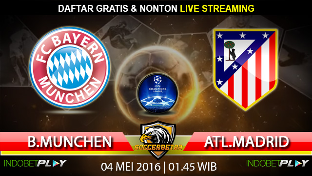 Prediksi Bayern Munchen vs Atl. Madrid 04 Mei 2016 (Liga Champions)