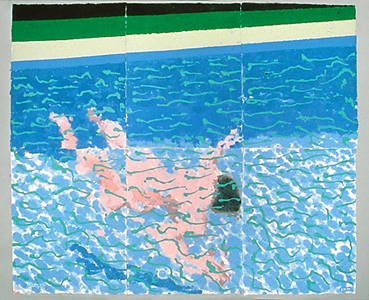 Drawing drawing water How to draw swimming pool water