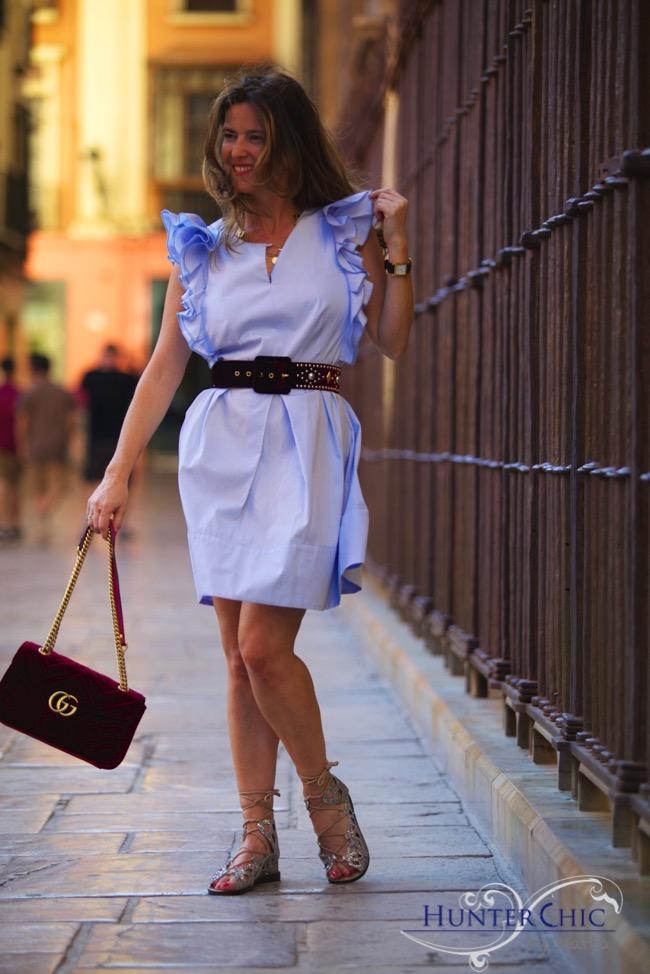 HunterChic by Marta-Marta Halcón de villavicencio-fashion blog- bloguer española- como combinar vestidos lady
