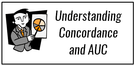 How to calculate Area Under Curve and Concordant